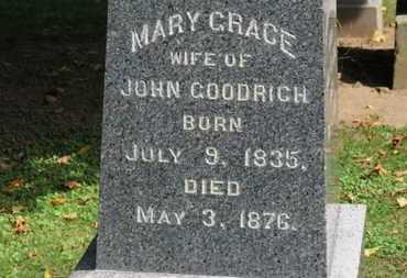 GOODRICH, MARY GRACE - Erie County, Ohio   MARY GRACE GOODRICH - Ohio Gravestone Photos