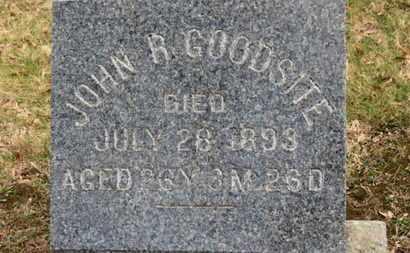 GOODSITE, JOHN R. - Erie County, Ohio | JOHN R. GOODSITE - Ohio Gravestone Photos