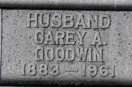 GOODWIN, CAREY A. - Erie County, Ohio   CAREY A. GOODWIN - Ohio Gravestone Photos