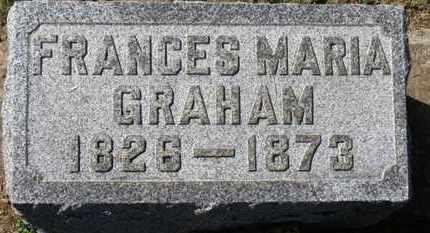 GRAHAM, FRANCES MSRIE - Erie County, Ohio | FRANCES MSRIE GRAHAM - Ohio Gravestone Photos