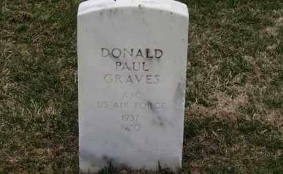 GRAVES, DONALD PAUL - Erie County, Ohio | DONALD PAUL GRAVES - Ohio Gravestone Photos