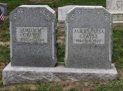 GRAVES, ALICE LOUISA - Erie County, Ohio | ALICE LOUISA GRAVES - Ohio Gravestone Photos