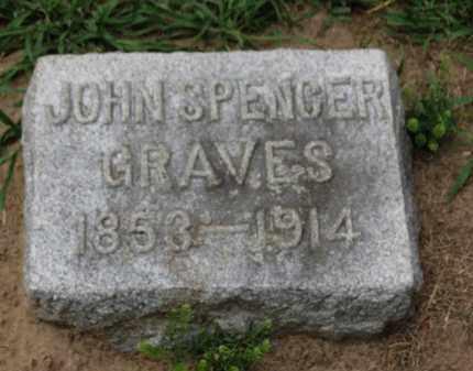 GRAVES, JOHN SPENCER - Erie County, Ohio   JOHN SPENCER GRAVES - Ohio Gravestone Photos
