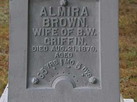 GRIFFIN, ALMIRA - Erie County, Ohio | ALMIRA GRIFFIN - Ohio Gravestone Photos