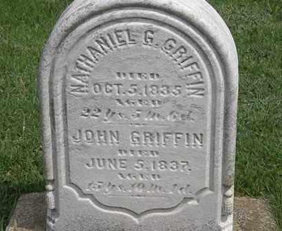 GRIFFIN, JOHN - Erie County, Ohio   JOHN GRIFFIN - Ohio Gravestone Photos