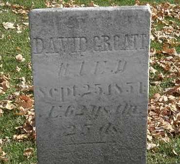GROATT, DAVID - Erie County, Ohio | DAVID GROATT - Ohio Gravestone Photos