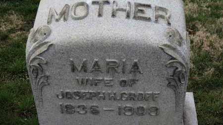 GROFF, MARIA - Erie County, Ohio | MARIA GROFF - Ohio Gravestone Photos