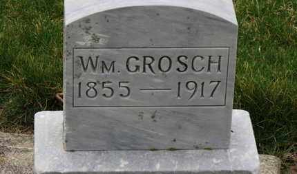 GROSCH, WM. - Erie County, Ohio   WM. GROSCH - Ohio Gravestone Photos