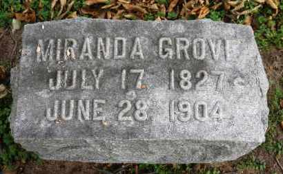GROVE, MIRANDA - Erie County, Ohio | MIRANDA GROVE - Ohio Gravestone Photos
