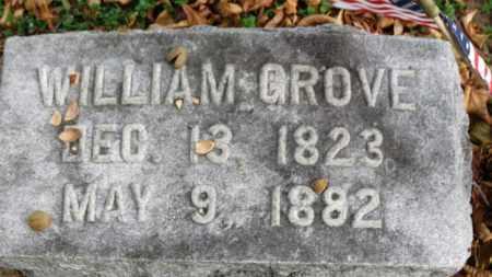 GROVE, WILLIAM - Erie County, Ohio | WILLIAM GROVE - Ohio Gravestone Photos