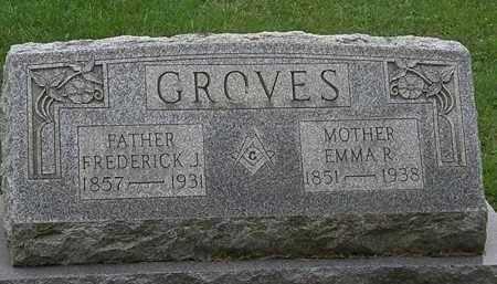 GROVES, EMMA R. - Erie County, Ohio | EMMA R. GROVES - Ohio Gravestone Photos
