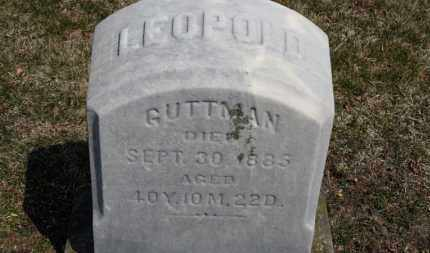 GUTTMAN, LEOPOLD - Erie County, Ohio   LEOPOLD GUTTMAN - Ohio Gravestone Photos