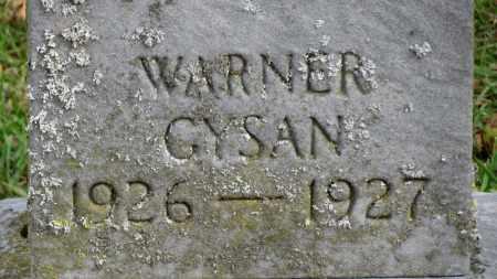 GYSAM, WARNER - Erie County, Ohio | WARNER GYSAM - Ohio Gravestone Photos
