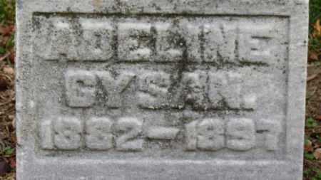 GYSAN, ADALINE - Erie County, Ohio   ADALINE GYSAN - Ohio Gravestone Photos