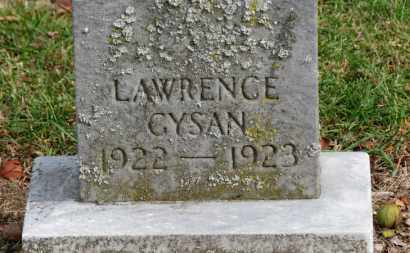 GYSAN, LAWRENCE - Erie County, Ohio | LAWRENCE GYSAN - Ohio Gravestone Photos