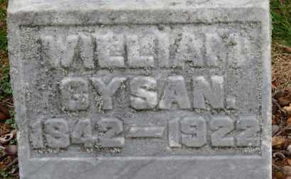 GYSAN, WILLIAM - Erie County, Ohio   WILLIAM GYSAN - Ohio Gravestone Photos