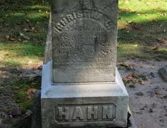 HAHN, K. - Erie County, Ohio | K. HAHN - Ohio Gravestone Photos