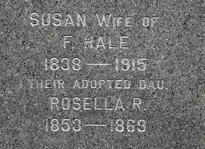 HALE, ROSELLA R. - Erie County, Ohio | ROSELLA R. HALE - Ohio Gravestone Photos