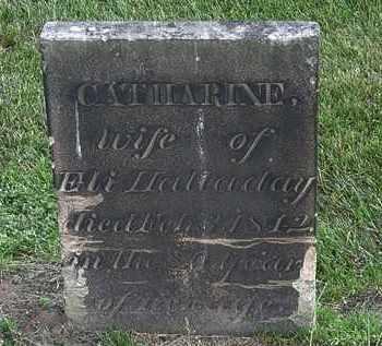 HALLADAY, CATHARINE - Erie County, Ohio | CATHARINE HALLADAY - Ohio Gravestone Photos