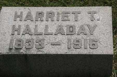 HALLADAY, HARRIET T. - Erie County, Ohio | HARRIET T. HALLADAY - Ohio Gravestone Photos