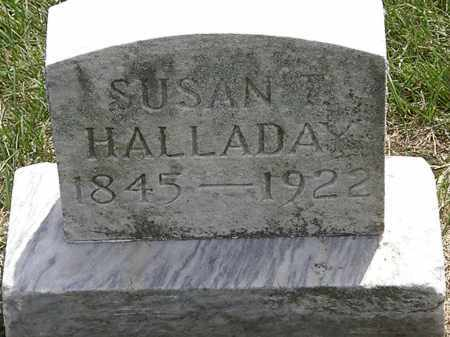 HALLADAY, SUSAN - Erie County, Ohio   SUSAN HALLADAY - Ohio Gravestone Photos