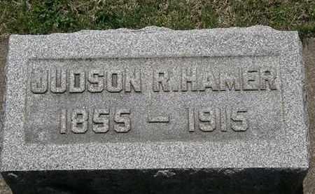 HAMER, JUDSON R. - Erie County, Ohio   JUDSON R. HAMER - Ohio Gravestone Photos
