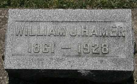 HAMER, WILLIAM J. - Erie County, Ohio | WILLIAM J. HAMER - Ohio Gravestone Photos