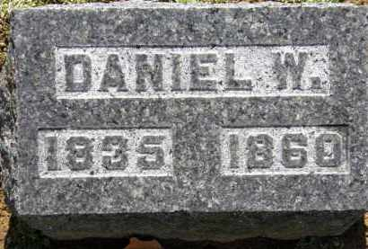 HAMILTON, DANIEL W. - Erie County, Ohio | DANIEL W. HAMILTON - Ohio Gravestone Photos
