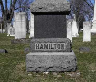 HAMILTON, FAMILY - Erie County, Ohio   FAMILY HAMILTON - Ohio Gravestone Photos