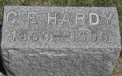 HARDY, C. E. - Erie County, Ohio | C. E. HARDY - Ohio Gravestone Photos