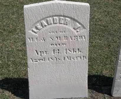 HARDY, LEANDER W. - Erie County, Ohio | LEANDER W. HARDY - Ohio Gravestone Photos