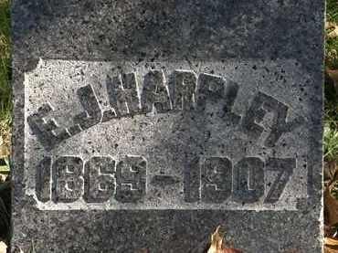 HARPLEY, E.J. - Erie County, Ohio | E.J. HARPLEY - Ohio Gravestone Photos