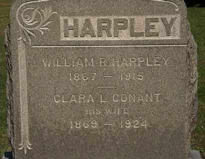HARPLEY, WILLIAM R. - Erie County, Ohio | WILLIAM R. HARPLEY - Ohio Gravestone Photos
