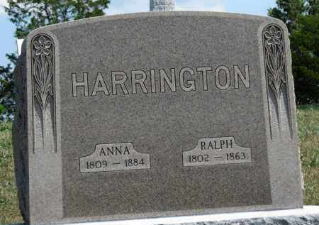 HARRINGTON, RALPH - Erie County, Ohio | RALPH HARRINGTON - Ohio Gravestone Photos