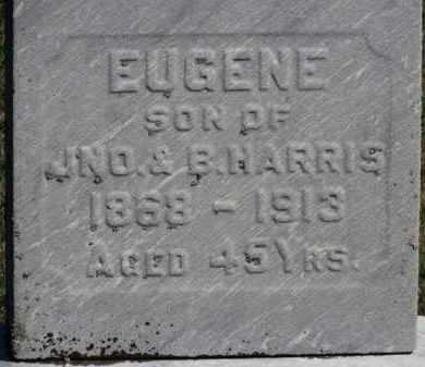 HARRIS, JNO. - Erie County, Ohio | JNO. HARRIS - Ohio Gravestone Photos