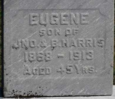 HARRIS, B. - Erie County, Ohio   B. HARRIS - Ohio Gravestone Photos