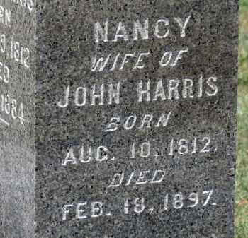 HARRIS, NANCY - Erie County, Ohio | NANCY HARRIS - Ohio Gravestone Photos