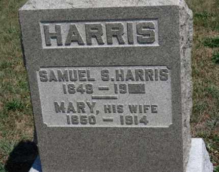 HARRIS, SAMUEL - Erie County, Ohio | SAMUEL HARRIS - Ohio Gravestone Photos