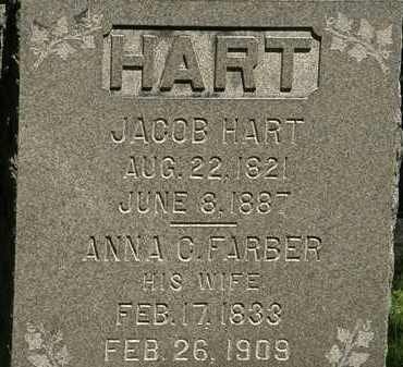 HART, JACOB - Erie County, Ohio | JACOB HART - Ohio Gravestone Photos