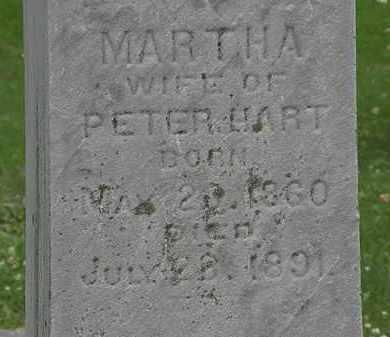 HART, MARTHA - Erie County, Ohio | MARTHA HART - Ohio Gravestone Photos