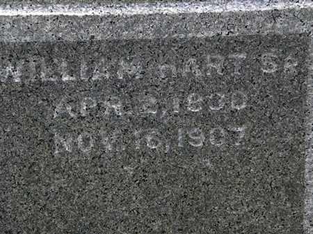 HART, WILLIAM SR. - Erie County, Ohio | WILLIAM SR. HART - Ohio Gravestone Photos