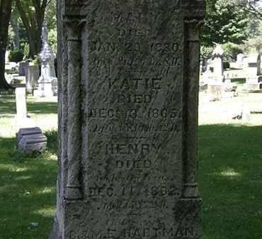HARTMAN, B. - Erie County, Ohio | B. HARTMAN - Ohio Gravestone Photos