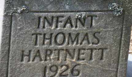 HARTNETT, THOMAS - Erie County, Ohio | THOMAS HARTNETT - Ohio Gravestone Photos