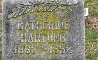 HARTUNG, CATHERINE - Erie County, Ohio   CATHERINE HARTUNG - Ohio Gravestone Photos