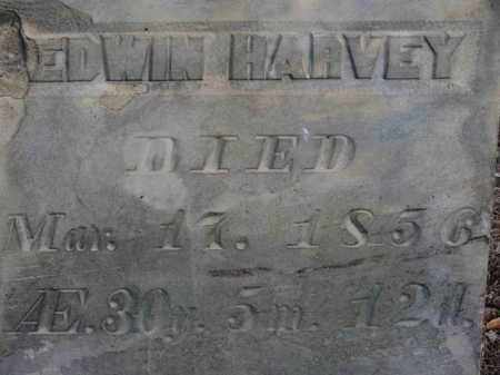 HARVEY, EDWIN - Erie County, Ohio | EDWIN HARVEY - Ohio Gravestone Photos
