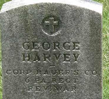 HARVEY, GEORGE - Erie County, Ohio | GEORGE HARVEY - Ohio Gravestone Photos
