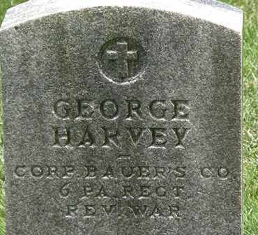 HARVEY, GEORGE - Erie County, Ohio | GEORGE HARVEY - Ohio Gravestone Photos