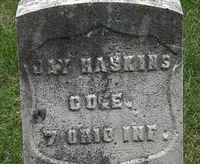 HASKINS, JAY - Erie County, Ohio   JAY HASKINS - Ohio Gravestone Photos