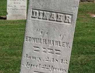 HAWLEY, DINAHR - Erie County, Ohio | DINAHR HAWLEY - Ohio Gravestone Photos