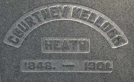 HEATH, COURTNEY KELLOGG - Erie County, Ohio | COURTNEY KELLOGG HEATH - Ohio Gravestone Photos